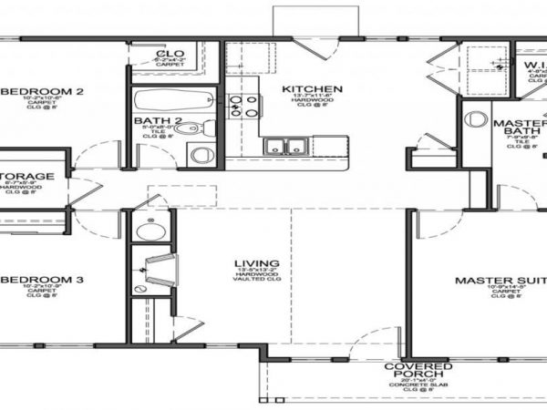 Interior Design Ideas with 3 Bedroom Tiny House Plans