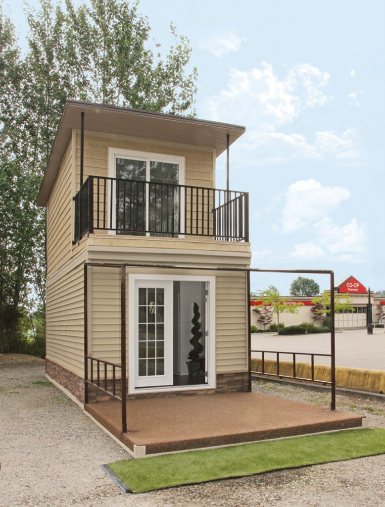 Two Story Tiny House Concept