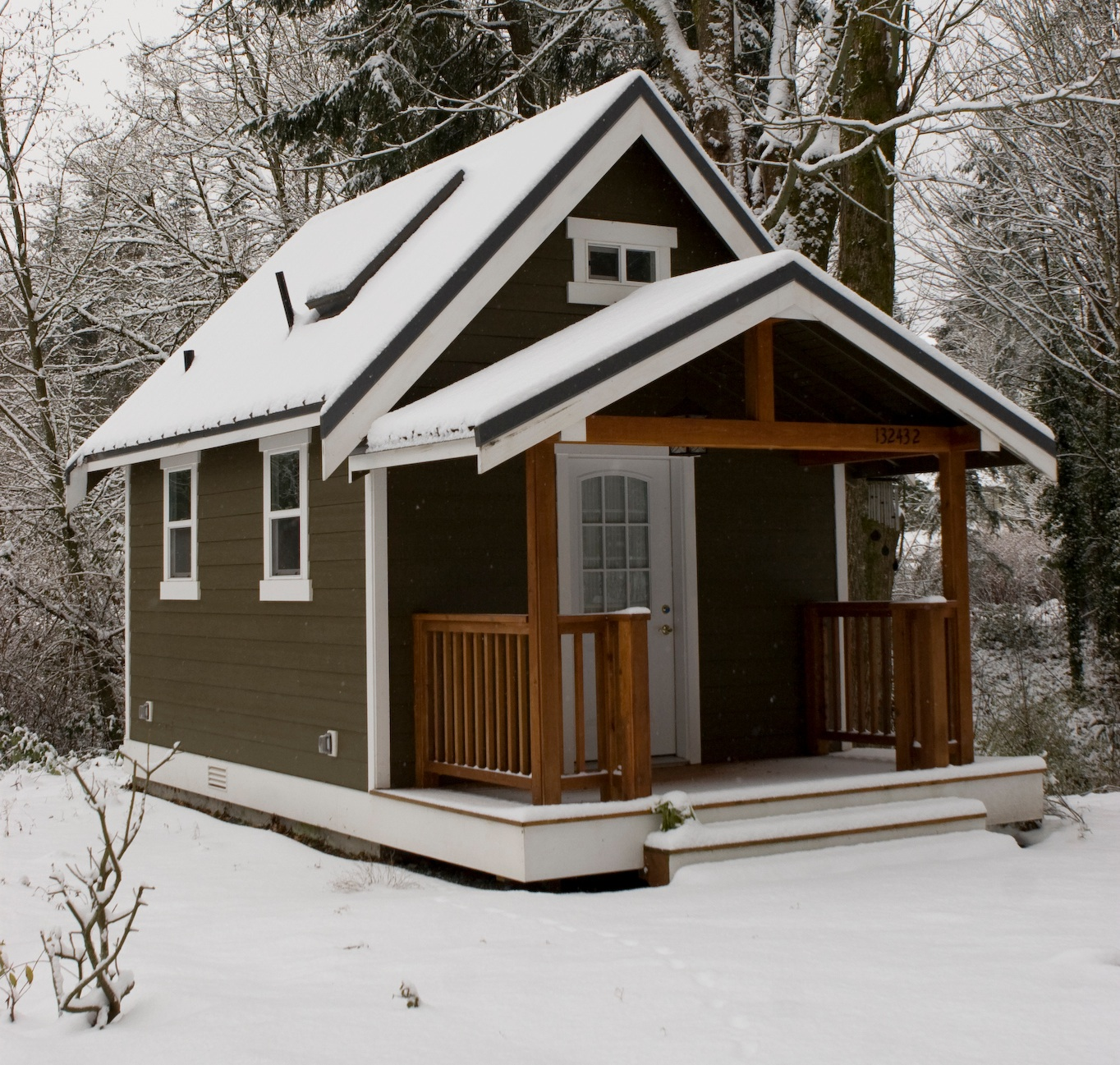 The average cost to build a tiny house tiny houses for Average cost to build an a frame house