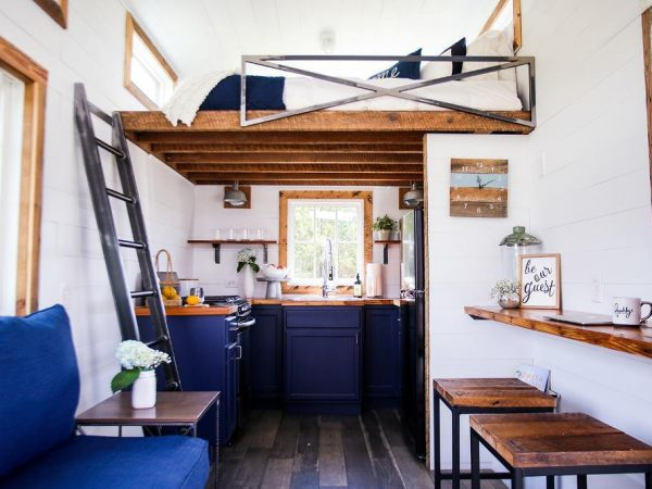 The Space Saving Designs of Tiny House Furniture