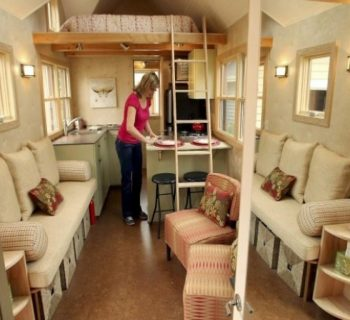 how to maximize space of tiny house interior design - Tiny House Interior