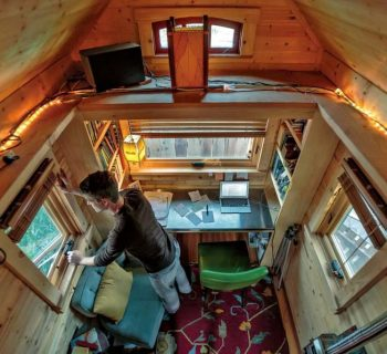How to Make the Most out of a Tiny House Office