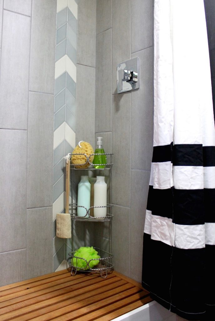 tiny house shower curtain