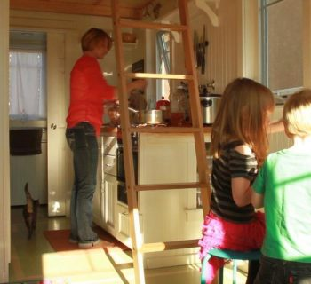 How to Live in a Tiny House with Kids
