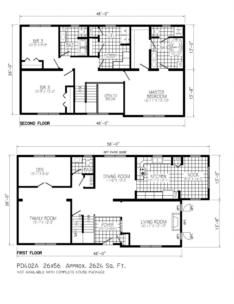 Two Story Tiny House Floor Plan 791x1024 - 44+ Floor Plan Small House Design 2 Storey Images