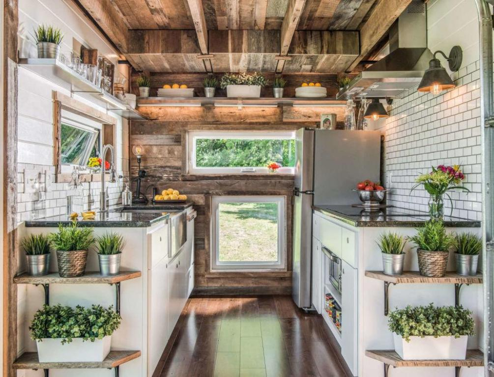 tiny house kitchen - Tiny House Inside